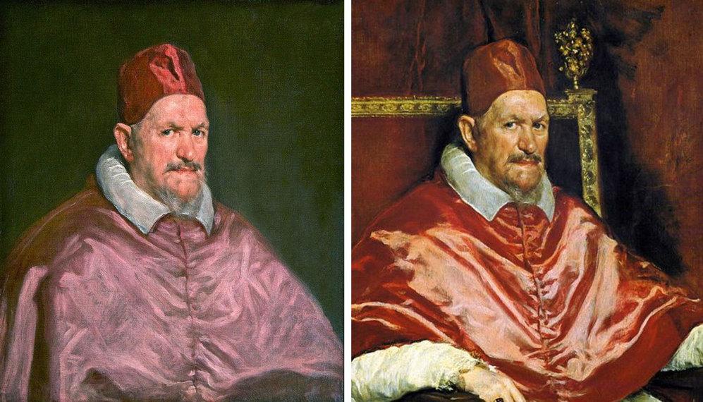 Los dos 'inocencios', en sus versiones de Roma y Washington.