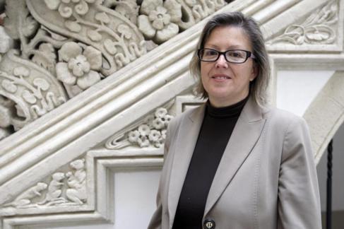 Claudia Bolart, logró la reinserción gracias a la Fundación...