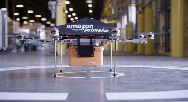 Prime Air, el drone con el que empezará a trabajar Amazon.
