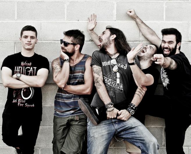 En la imagen, Adrián, Javier, Helmut, Rafael y Rodrigo, todos los...