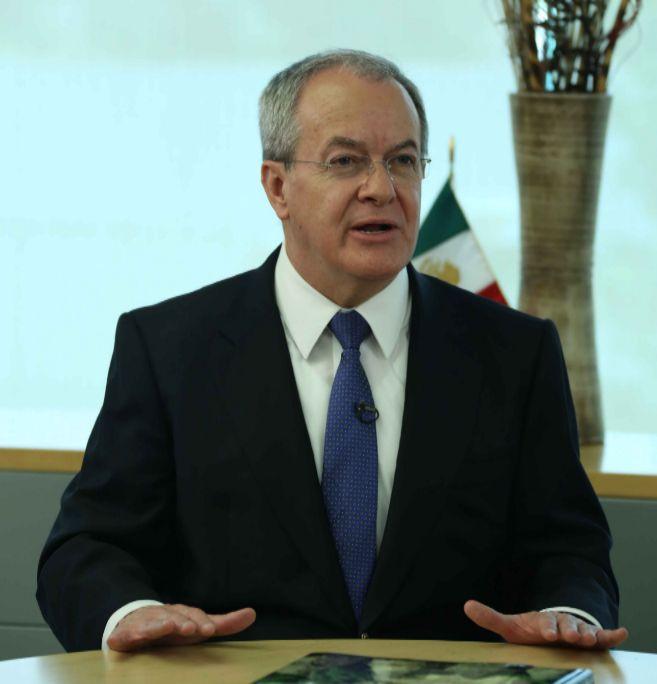 El director de la Comisión Nacional de Seguridad en México, Monte...