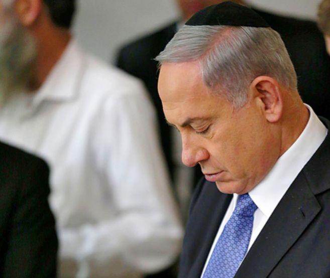 El primer ministro israelí, Benajmin Netanyahu.