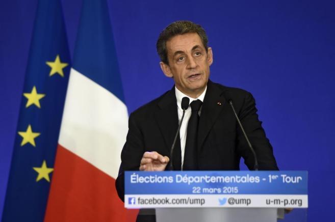 Nicolas Sarkozy, líder de la conservadora Unión para un Movimiento...