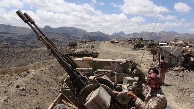 La resistencia del sur de Yemen, leal al presidente Hadi, con...