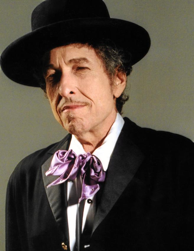 El cantante Bob Dylan.