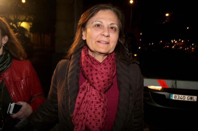 La delegada de Empleo, Aurora Cosano (cesada ayer mismo), cuando fue...