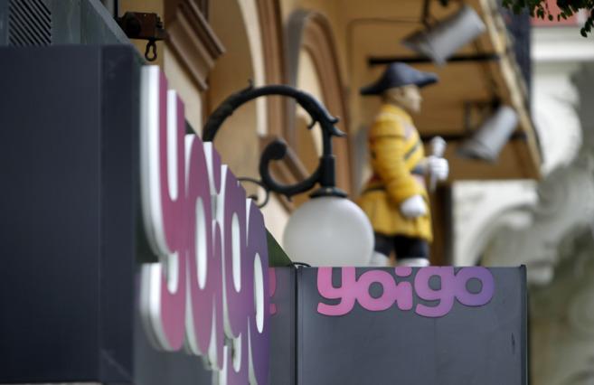 Tienda de Yoigo en Madrid.