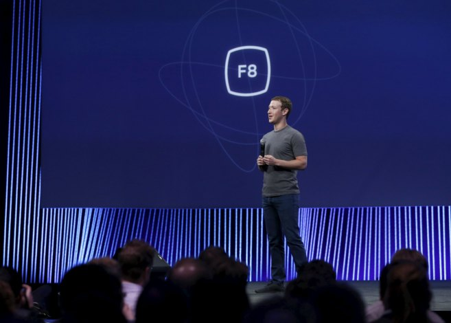 Mark Zuckerberg durante una conferencia en  San Francisco