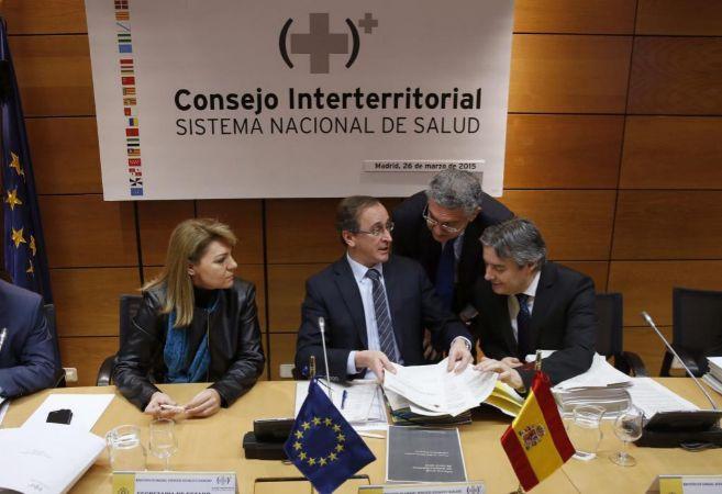 Inicio de la reunión del Consejo Interterritorial del Sistema...