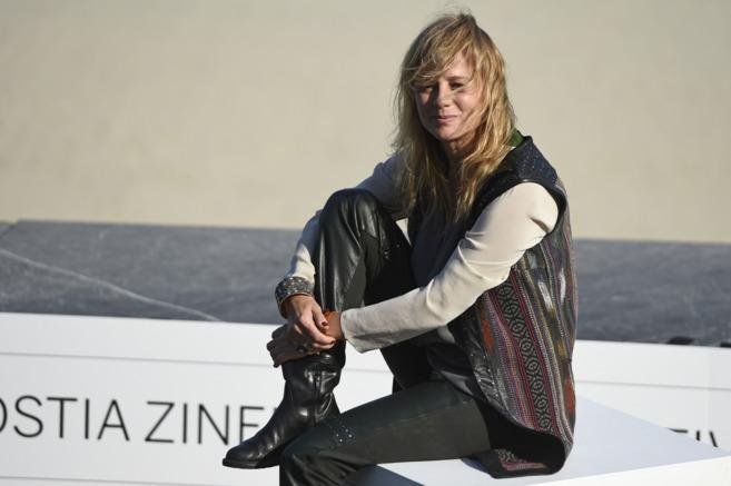 Emma Suárez, en la playa de Gros en la última edición del Festival...