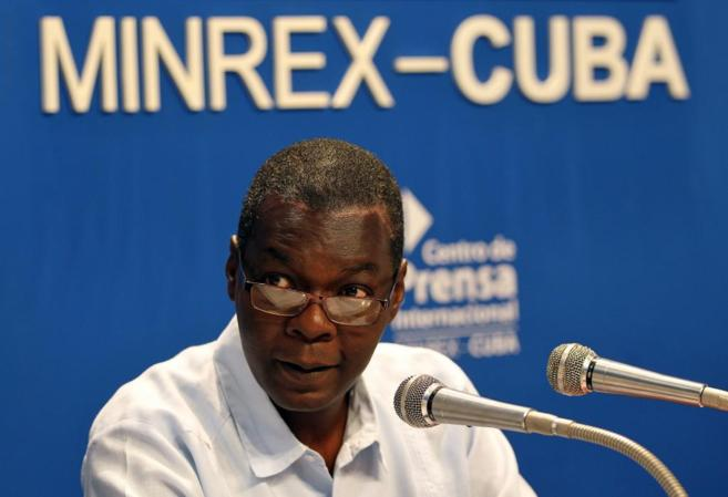El subdirector del Ministerio de Relaciones Exteriores de Cuba,...