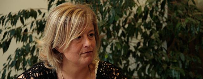 Gerorgina Blanes, directora del campus de Alcoy de la Universidad...