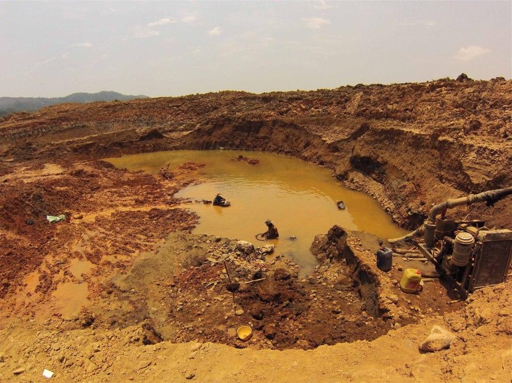 """El descubridor de la mina: """"Santa Cruz puede ser la mina más..."""