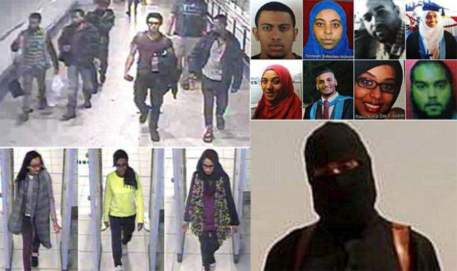 Las 'novias yihadistas', 'yihadi' John, los...