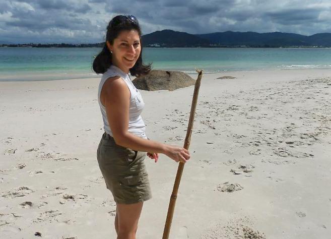 Claudia Vásquez, de 39 años, nacida en Chile pero con nacionalidad...