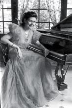 Maria Canals de joven.