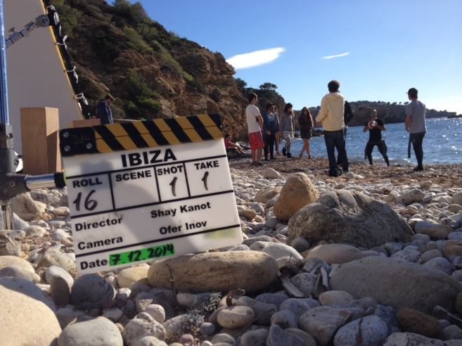 "Un momento del rodaje de ""Ibiza"" que está previsto que..."