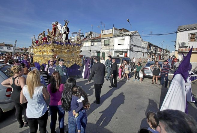 Vecinos de Torreblanca asisten a la procesión de la hermandad del...