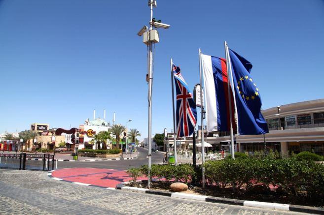Imagen del centro turístico de Sham el Sheij.