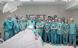 El equipo del Hospital de Vall d'Hebron