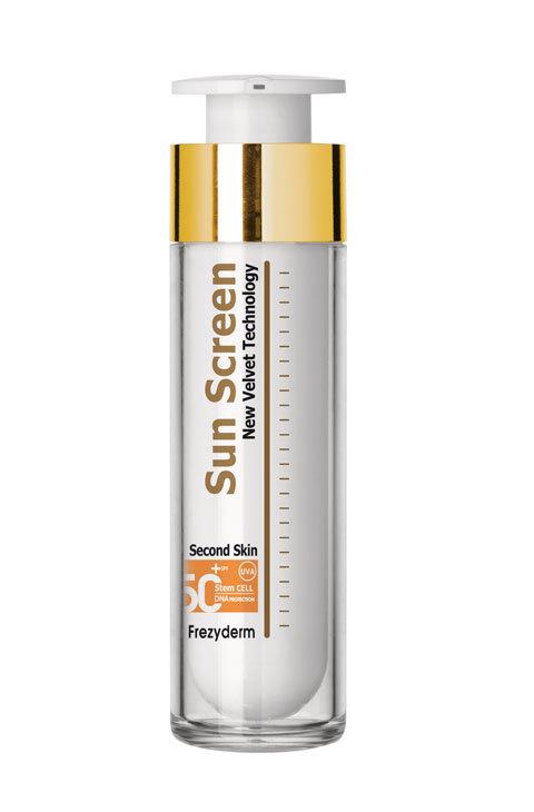 Crema con filtro solar para el rostro Velvet Sun Screen SPF 50+ (19,95...