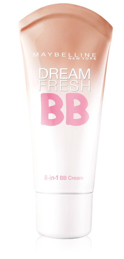 BB Cream Dream Fresh (8,99 euros), de Maybelline New York. Una...
