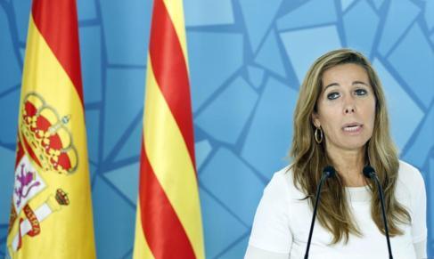 La presidenta del PPC, Alícia Sanchez-Camacho