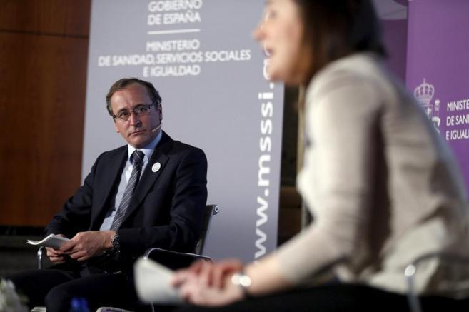 Alfonso Alonso, en la presentación de la macroencuesta.