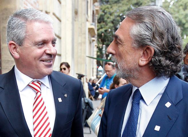 Pablo Crepso y Francisco Correa, cabecillas de la trama Gürtel.