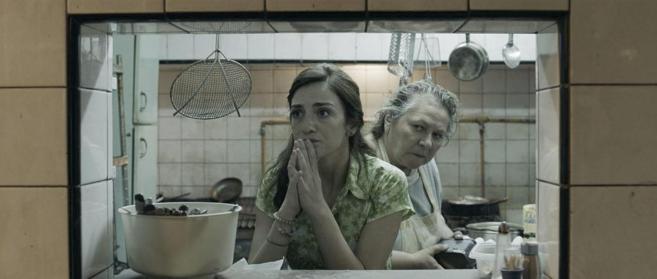 Fotograma de la recien estrenada película en Inglaterra