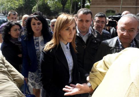La alcaldesa de Montcada i Reixac, María Elena Pérez