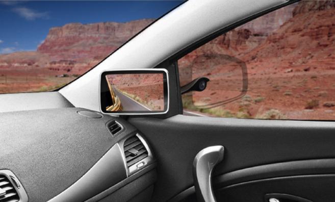 Una cámara plenóptica, en el exterior, y un monitor para visionar...
