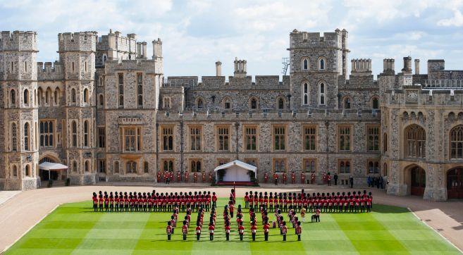El castillo de Windsor, en Berkshire.