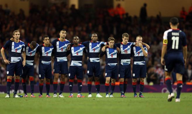 La selección de Gran Bretaña durante los Juegos Olímpicos de...