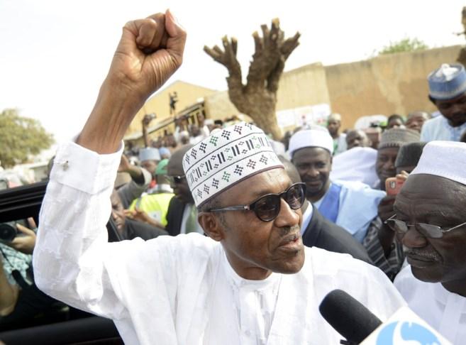 El candidato del principal partido de la oposición nigeriana,...