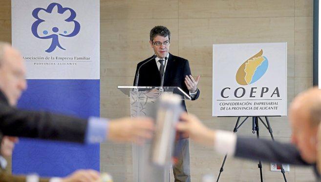Álvaro Nadal, durante su intervención en la jornada organizada por...