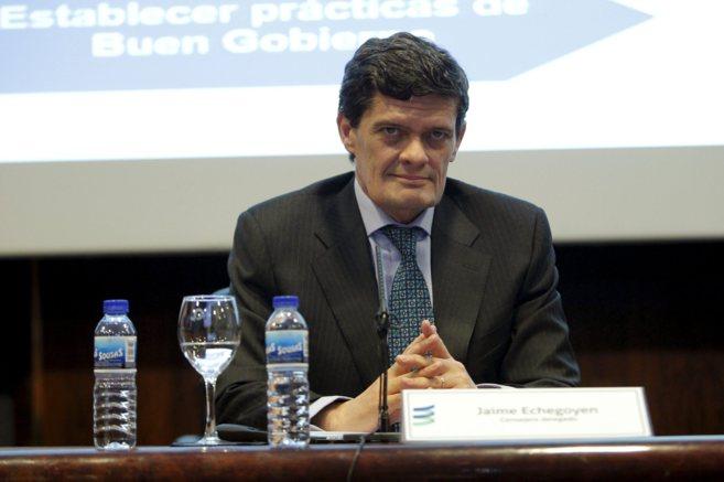 El presidente de Sareb, Jaime Echegoyen.