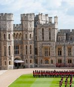 El castillo de Windsor, en Berkshire.