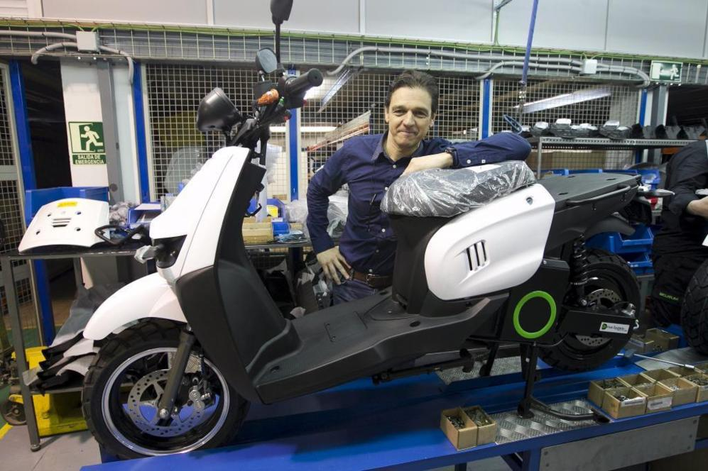 Carlos Sotelo, CEO de Scutum en las instalaciones de la empresa en...