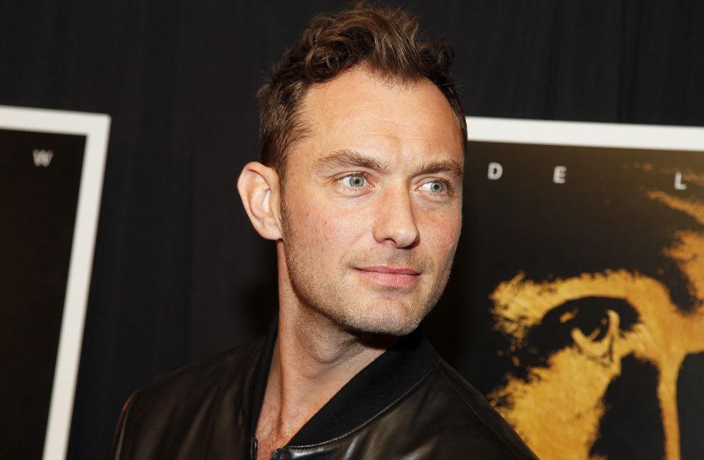 Jude Law. El actor británico volvía a la crónica social...