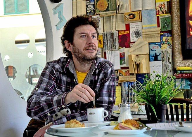 El secretario general de Podemos en Baleares, Alberto Jarabo.