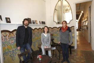 La nueva librería y sus socios fundadores.