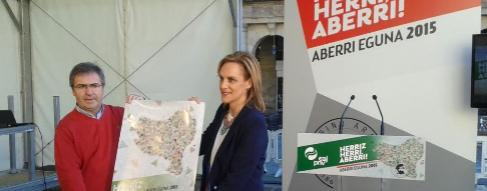 La presidenta del Bizkai Buru Batzar, Itxaso Atutxa.