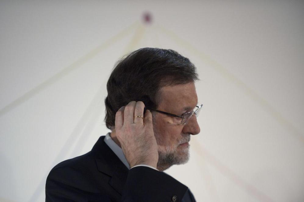 Mariano Rajoy, esta semana, durante la inauguración del Centro...