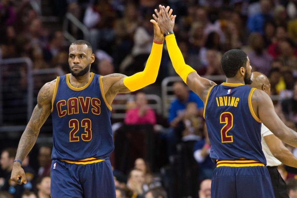 LeBron James dio un nuevo recital en la victoria de Cleveland frente a...