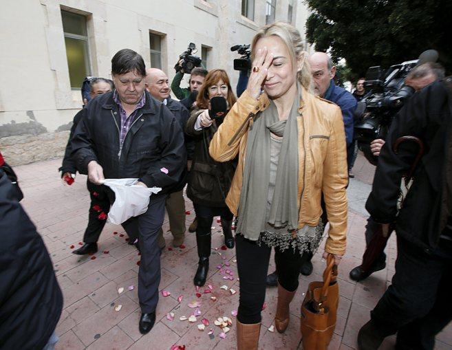 Castedo llega a los juzgados para declarar en el caso Rabasa.