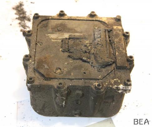 La segunda caja negra recuperada del avión de Germanwings.