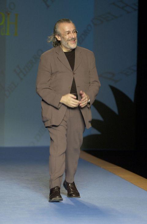 El diseñador Pedro del Hierro ha muerto este viernes por causas...