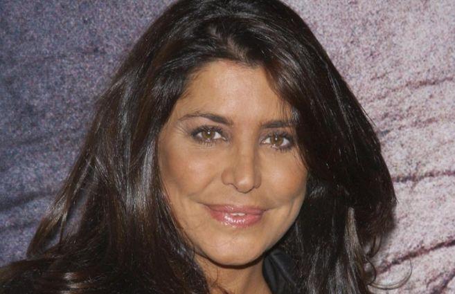 La modelo María Pineda, en un estreno.