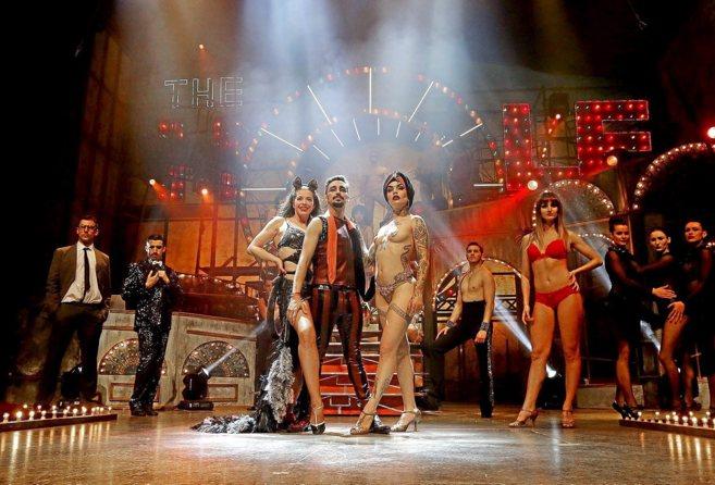 Vinila von Bismarck y Canco Rodríguez animan al público a disfrutar...